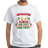 Christmas Mens Classic White T-Shirts