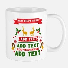 personalized add Text Christmas Mug