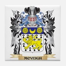 Mcveigh Coat of Arms - Family Crest Tile Coaster