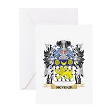 Mcveigh Coat of Arms - Family Crest Greeting Cards