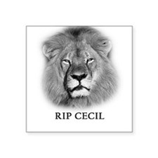 RIP Cecil The Lion Sticker