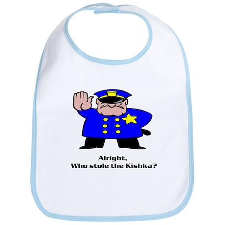 Alright who stole the kishka Bib