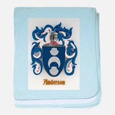 Anderson Family Crest baby blanket