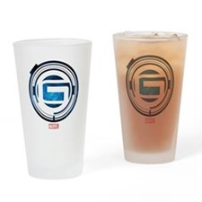 Guardians of the Galaxy G Drinking Glass