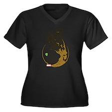 Guardians Gr Women's Plus Size V-Neck Dark T-Shirt