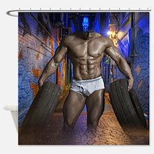Cute Wi Shower Curtain