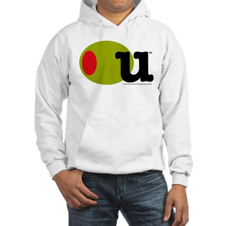 Olive U Hooded Sweatshirt