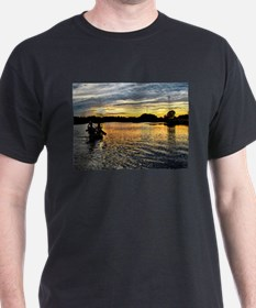 Canoeing on the Charles River T-Shirt