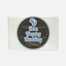 Ban Trophy Hunting Rectangle Magnet