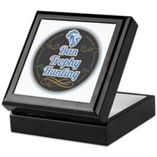 Ban Trophy Hunting Keepsake Box