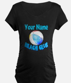 Beach Ball Club Maternity T-Shirt