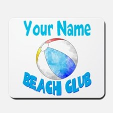 Beach Ball Club Mousepad