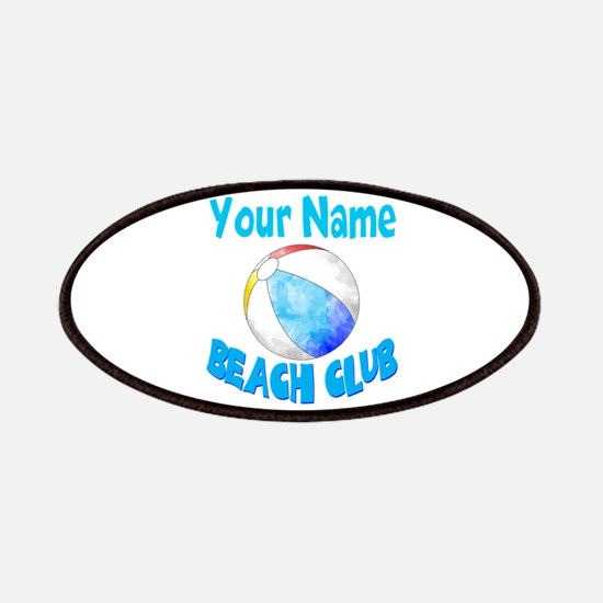 Beach Ball Club Patch