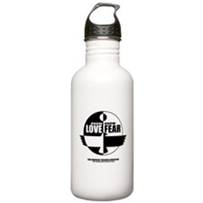 Know Love Know Fear Water Bottle