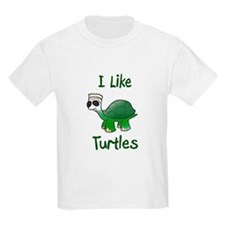 Unique I like turtles T-Shirt