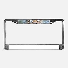 Tiger005 License Plate Frame