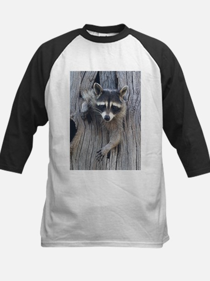Raccoon in a Tree Baseball Jersey