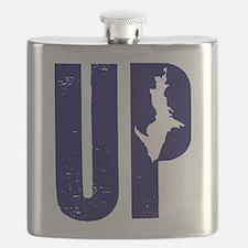 UP Michigan Flask