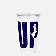 UP Michigan Acrylic Double-wall Tumbler