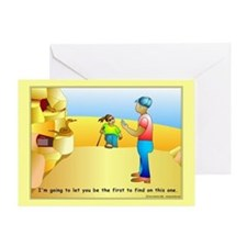 Geocaching First to Find Greeting Card