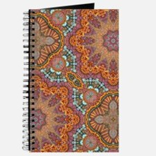 turquoise orange bohemian moroccan Journal