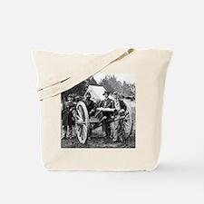 Civil War Union Officers Tote Bag