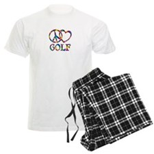 Peace Love Golf Pajamas