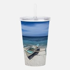 Ready and Waiting Acrylic Double-wall Tumbler