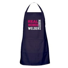 Real Women Marry Welders Apron (dark)
