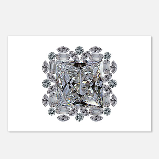 Diamond Gift Brooch Postcards (Package of 8)