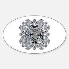 Diamond Gift Brooch Decal
