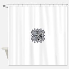 Diamond Gift Brooch Shower Curtain