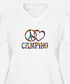 Peace Love Campin T-Shirt