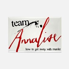Team Annalise Rectangle Magnet