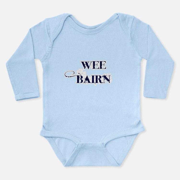 Wee Bairn - Blue Body Suit