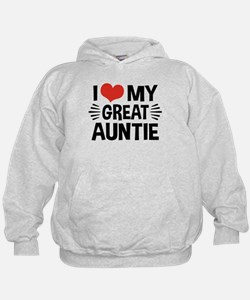 I Love My Great Auntie Hoodie