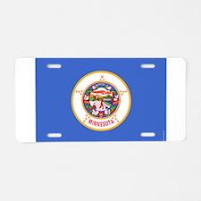Minnesota State Flag 2 Aluminum License Plate