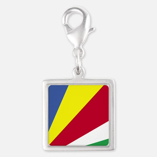 Square Seychelles Flag Charms