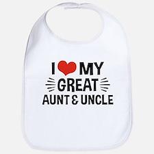 I Love My Great Aunt & Uncle Bib