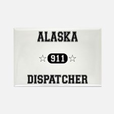 Alaska Dispatcher Rectangle Magnet