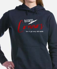 Team Connor Woman's Hooded Sweatshirt