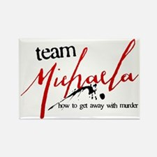 Team Michaela Rectangle Magnet