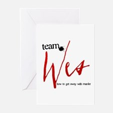 Team Wes Greeting Cards (20 pack)