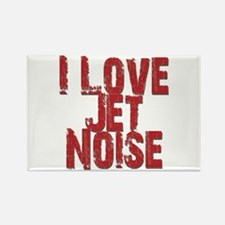 I Love Jet Noise Magnets