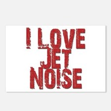 I Love Jet Noise Postcards (Package of 8)