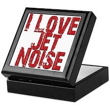 I Love Jet Noise Keepsake Box