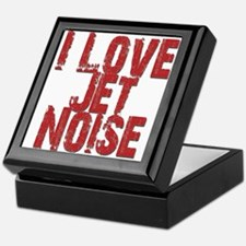 I Love Jet Noise Keepsake Box