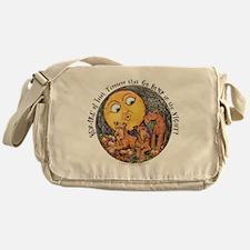 Irish Terrier Halloween Messenger Bag