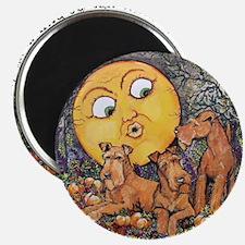 Irish Terrier Halloween Magnets