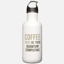 Coffee Then Quantum Co Sports Water Bottle